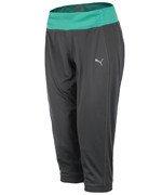 spodnie sportowe damskie 3/4 PUMA GYM LOOSE CUFFED CAPRI / 512031-02